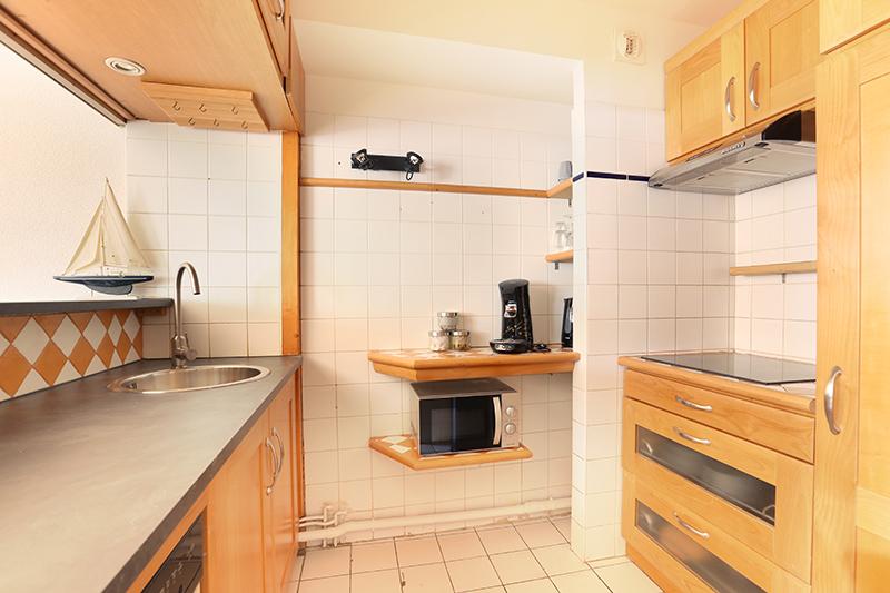 Kitchen at Residence Les Lilas Paris Apartment, Les Lilas, Paris
