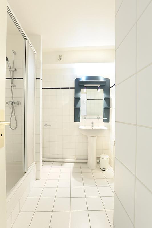Bathroom at Residence Les Lilas Paris Apartment, Les Lilas, Paris