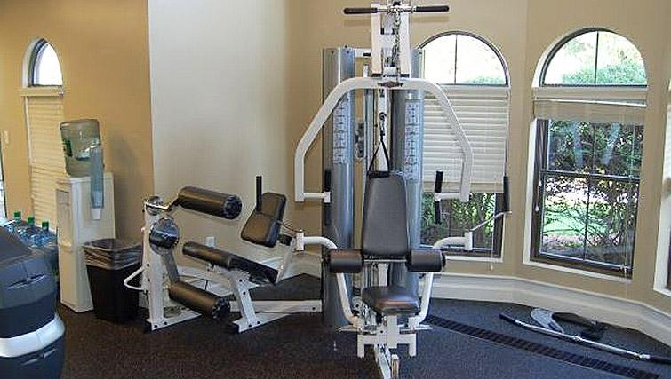 Gym at Boulder Park Apartment