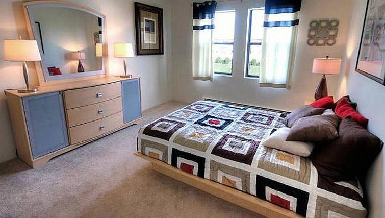 Bedroom at Boulder Park Apartment