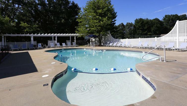 Pool at Boulder Park Apartment