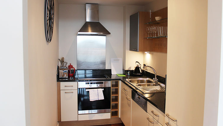 Kitchen at The Dickens Apartment