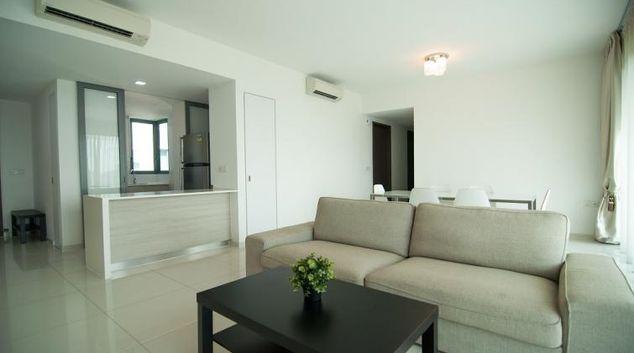 Living area at Clementi Condominium T Apartments, Singapore