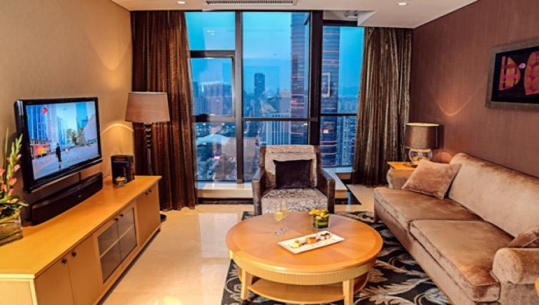 Comfortable living area at Oakwood Premier Guangzhou