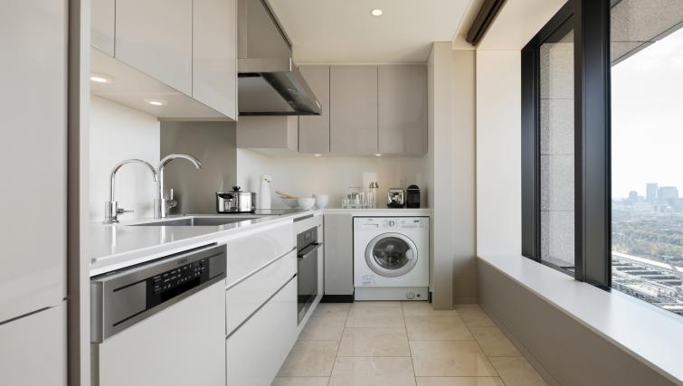 Basic kitchenette at Ascott Marunouchi Apartments