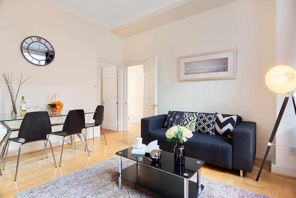 Living room at Creechurch Lane