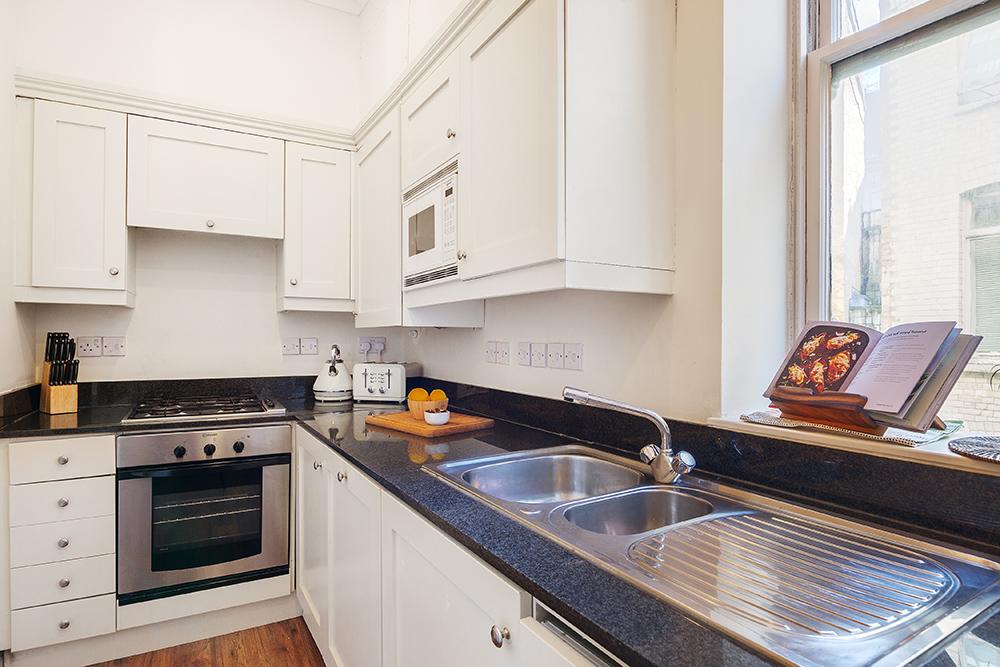 Kitchen at Creechurch Lane