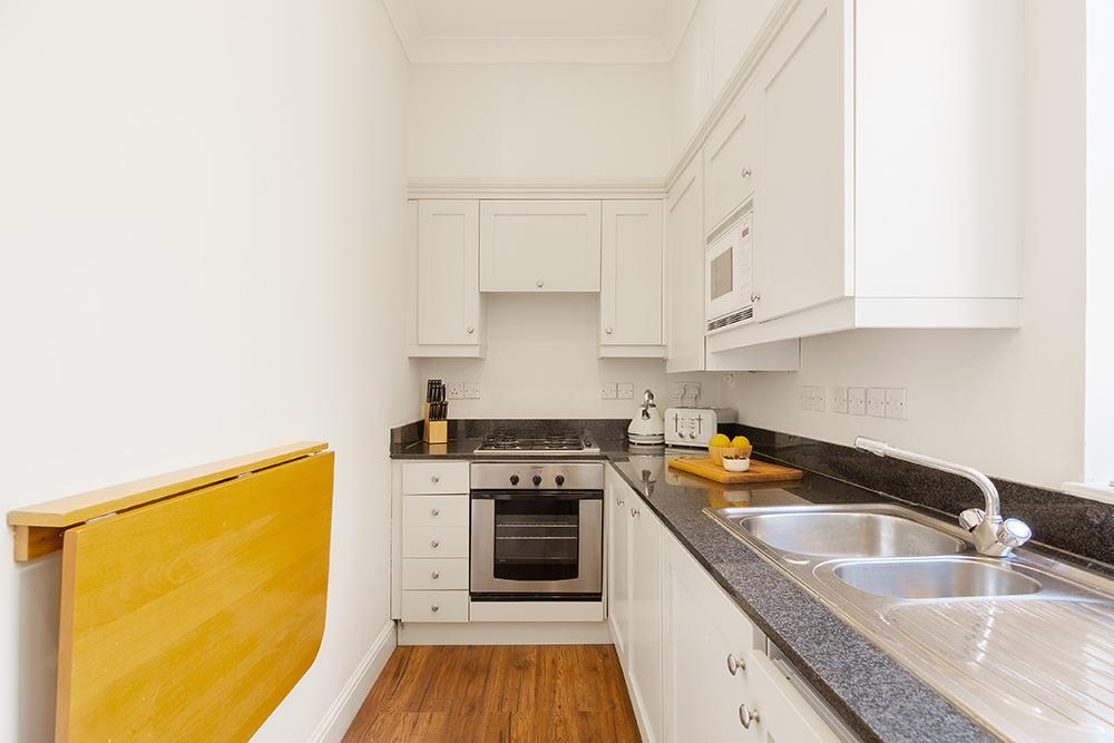 Kitchen facilities at Creechurch Lane