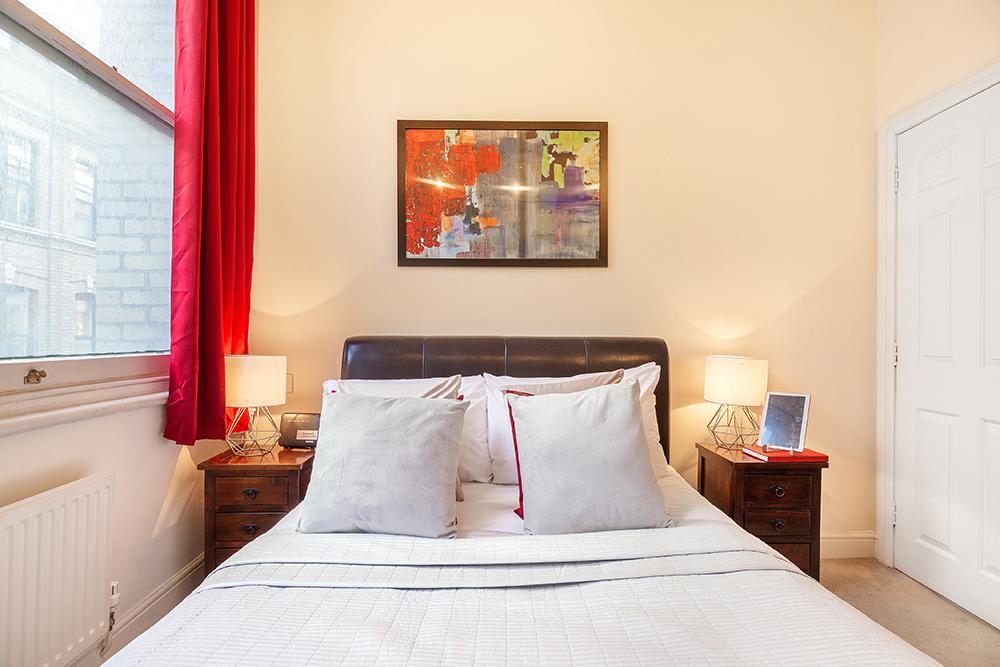 Bedroom 2 at Creechurch Lane