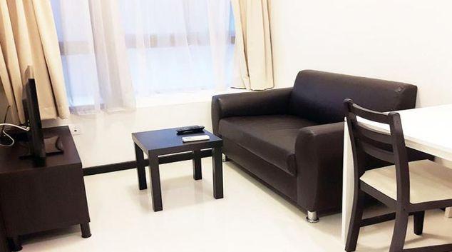 Living space at Haw Par Villa Condominium W Apartments, Singapore